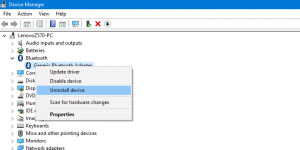 How to Fix Can't Turn on Bluetooth Windows 10