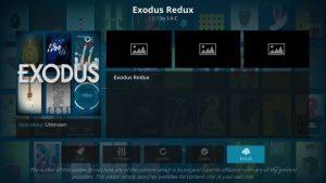 xodus Redux & Exodus Kodi Addon