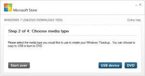 windows usb download tool