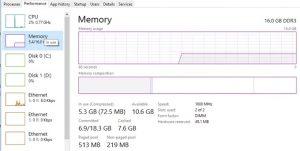 system high disk usage