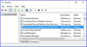 Disable Telemetry and Data Collection