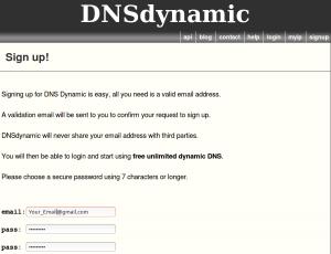 DNSdynamic DuckDNS