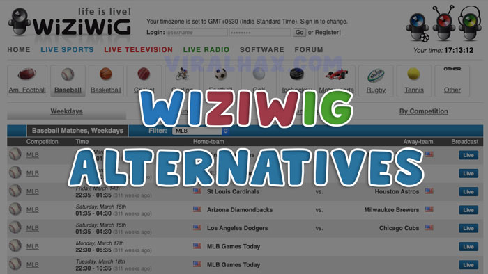 Photo of Wiziwig Alternatives Top 15 Websites to Watch Live Sports Online