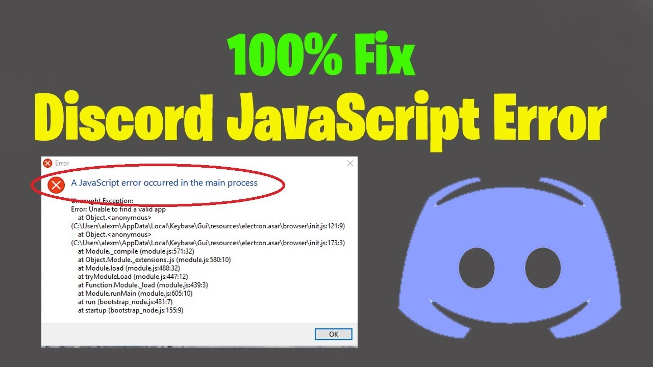 Photo of Getting A Javascript Error On Discord? Here's The Fix