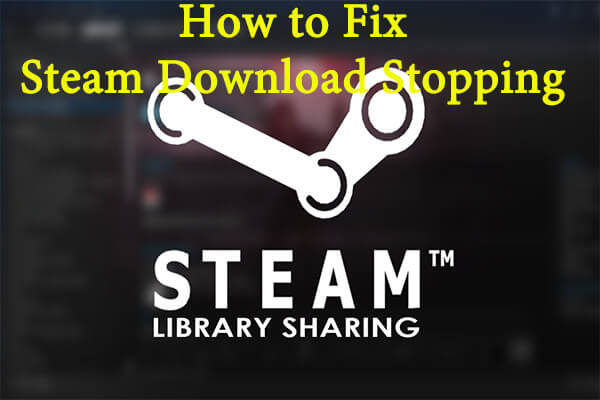 steam download stopping