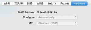 Spoof a MAC Address in Windows