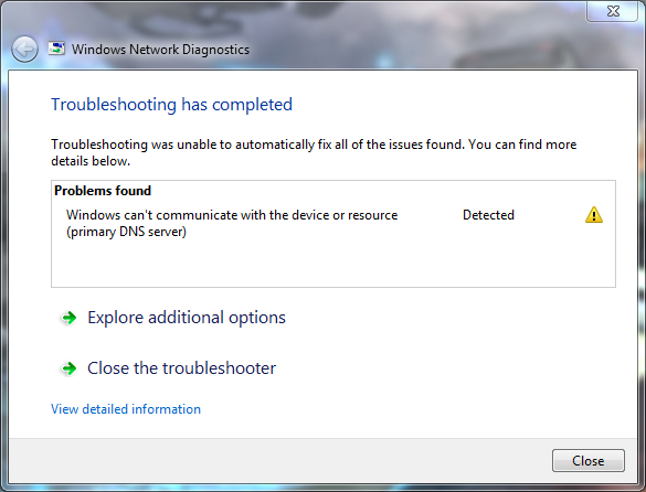 Fixing Windows can't communicate with the device or resource