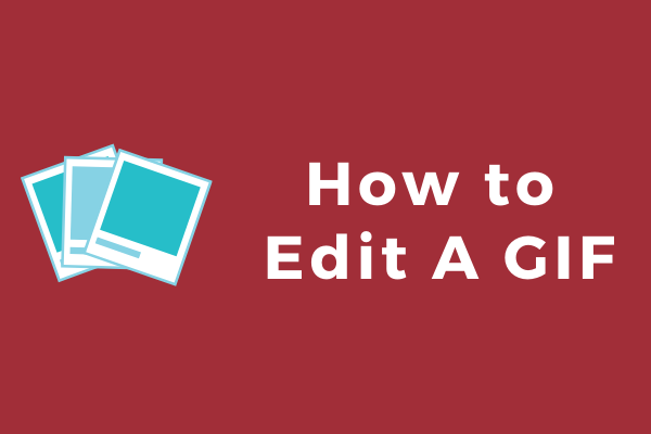 how to edit a gif