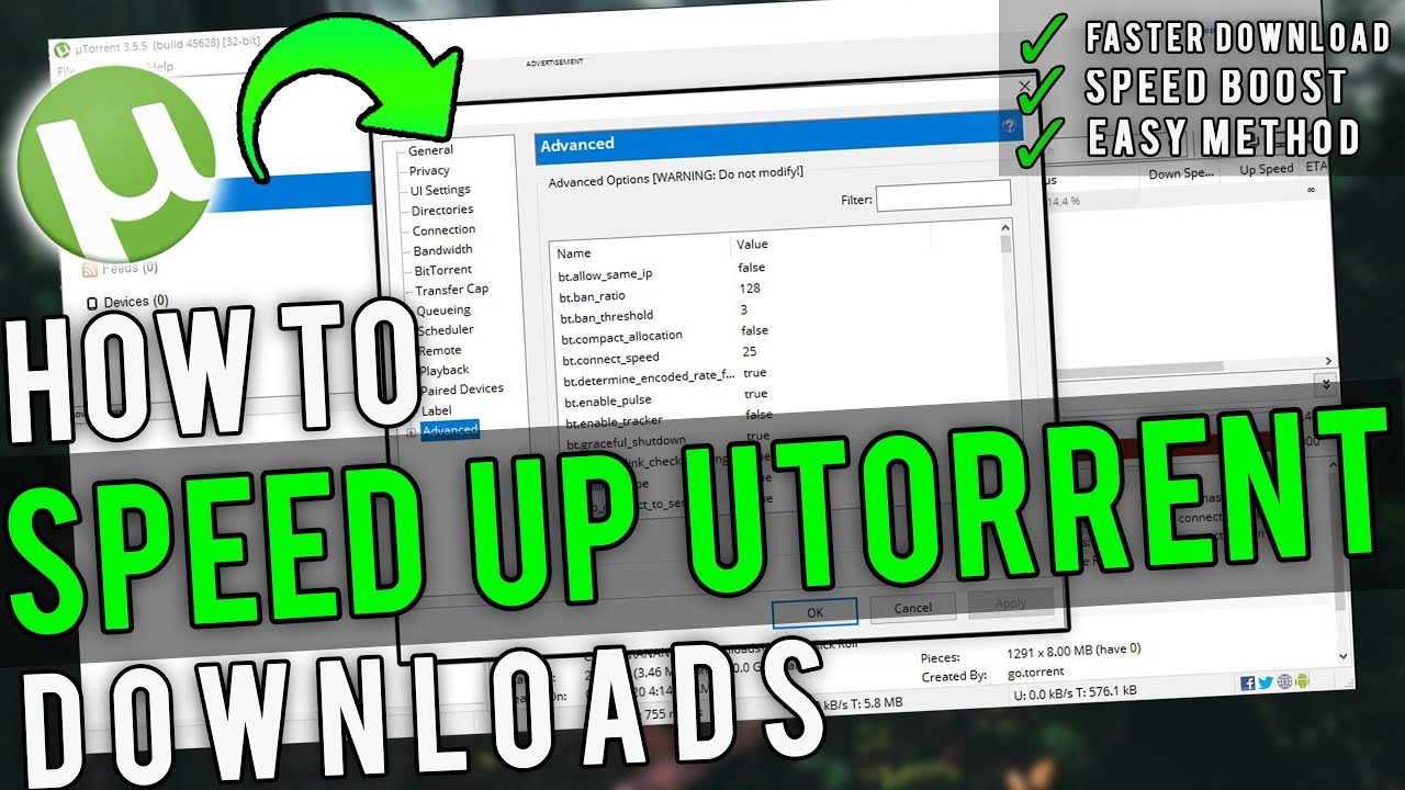 Photo of Best uTorrent Settings to Speed up uTorrent [Complete Guide]