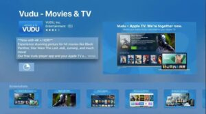 vudu app for apple tv
