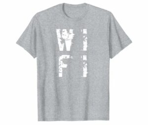 The Distressed-Inspired WiFi Tee