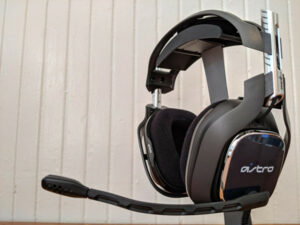 astro a40 mic not working
