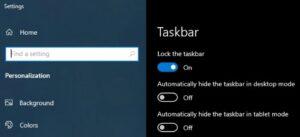 windows 10 taskbar not working fixes