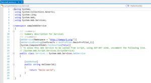 net web services